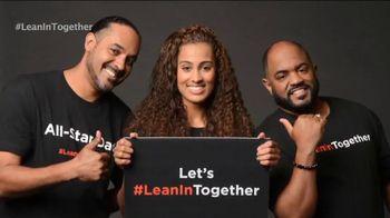 Lean In TV Spot, 'WNBA Stars'