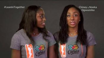 Lean In TV Spot, 'WNBA Stars' - Thumbnail 4
