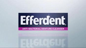 Efferdent Anti-Bacterial Denture Cleanser TV Spot, 'The Efferdent Effect' - Thumbnail 1
