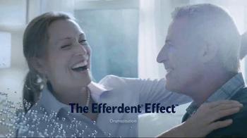 Efferdent Anti-Bacterial Denture Cleanser TV Spot, 'The Efferdent Effect' - Thumbnail 4