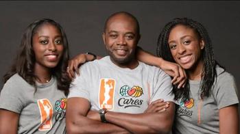 NBA Cares TV Spot, 'Dad' Featuring Sue Bird, Skylar Diggins - Thumbnail 5