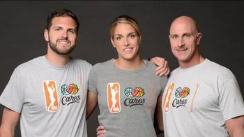 NBA Cares TV Spot, 'Dad' Featuring Sue Bird, Skylar Diggins - Thumbnail 8