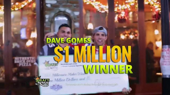 DraftKings TV Spot, 'Millionaire Maker: Step Up to the Plate' - Thumbnail 4