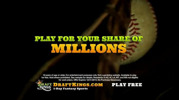 DraftKings TV Spot, 'Millionaire Maker: Step Up to the Plate' - Thumbnail 5