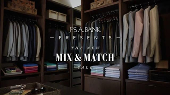 JoS. A. Bank Mix and Match Sale TV Spot, 'For the First Time Ever' - Thumbnail 2
