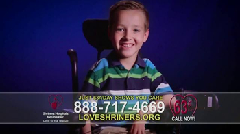 Shriners Hospitals For Children TV Spot, 'Love Is' - Thumbnail 10