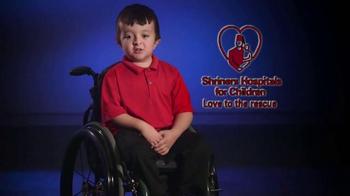 Shriners Hospitals For Children TV Spot, 'Love Is' - Thumbnail 3