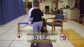 Shriners Hospitals For Children TV Spot, 'Love Is' - Thumbnail 7