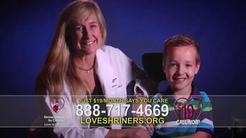 Shriners Hospitals For Children TV Spot, 'Love Is' - Thumbnail 8