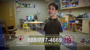 Shriners Hospitals For Children TV Spot, 'Love Is' - Thumbnail 9