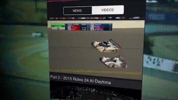 International Motor Sports Association App TV Spot, 'The Latest News' - Thumbnail 9