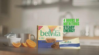 belVita Breakfast Biscuits TV Spot, 'Steady Energy' - Thumbnail 9