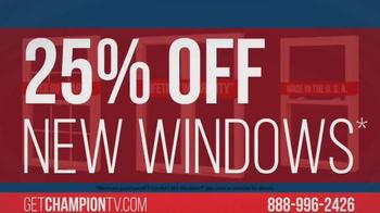 Champion Windows TV Spot, 'Uncomfortable?' - Thumbnail 6