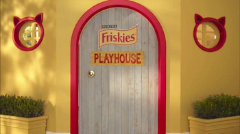 Friskies Pull 'n Play TV Spot, 'Playhouse' - Thumbnail 1