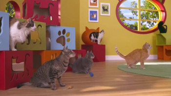 Friskies Pull 'n Play TV Spot, 'Playhouse'