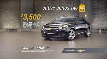 Chevrolet Malibu Bonus Tag TV Spot, 'Kid Tested' - Thumbnail 7