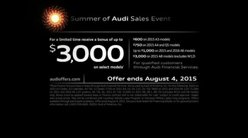 Audi Summer of Audi Sales Event TV Spot, 'Get Ready for Summer' - Thumbnail 8