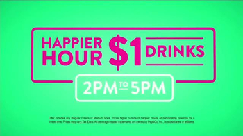 Taco Bell Happier Hour TV Spot, 'Brighten Up' Song by Anamanaguci  - Thumbnail 4