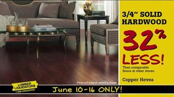 Lumber Liquidators TV Spot, 'Hot Styles' - Thumbnail 6