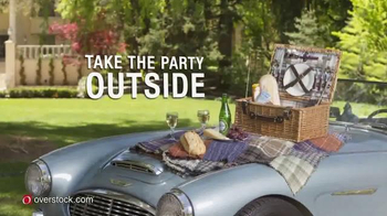 Overstock.com TV Spot, 'Take the Party Outside' Featuring Bret Michaels - Thumbnail 2