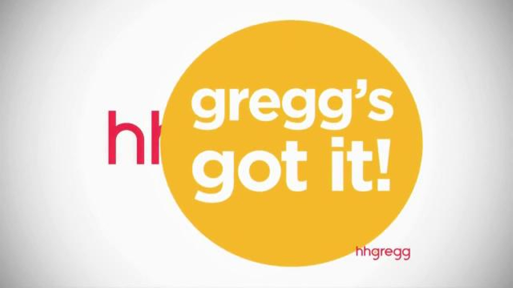 Hh Gregg Tv Commercial Greggs Got It Washers And Dryers