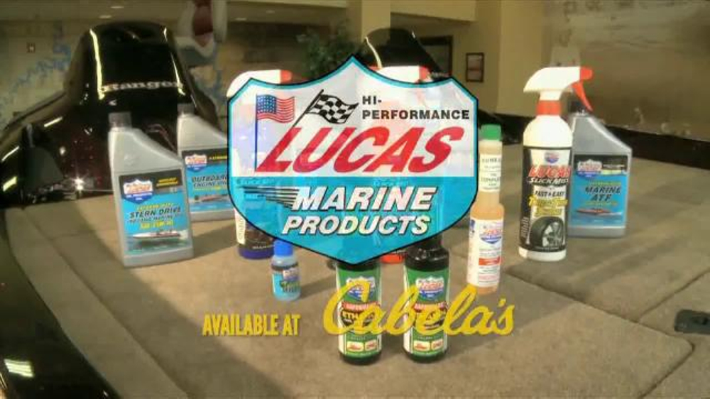 Lucas Marine Products Fishing Reel Oil TV Commercial, 'Reel Performance'