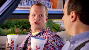 Sonic Drive-In Half Price Candy Slushes TV Spot, 'Kid in a Candy Store' - Thumbnail 5