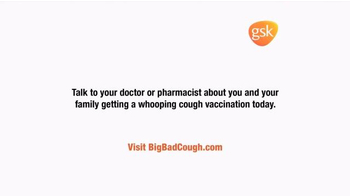 GlaxoSmithKline TV Spot, 'Whooping Cough Vaccination' - Thumbnail 9