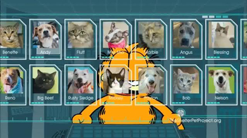 The Shelter Pet Project TV Spot, 'Harlow and Sorullo' Featuring Garfield - Thumbnail 2