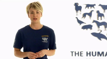 Humane Society TV Spot, 'Ending Animal Cruelty' Featuring Kaley Cuoco - Thumbnail 1