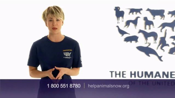 Humane Society TV Spot, 'Ending Animal Cruelty' Featuring Kaley Cuoco - 1061 commercial airings