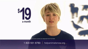 Humane Society TV Spot, 'Ending Animal Cruelty' Featuring Kaley Cuoco - Thumbnail 7