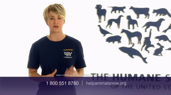 Humane Society TV Spot, 'Ending Animal Cruelty' Featuring Kaley Cuoco - Thumbnail 9