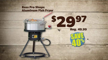 Bass Pro Shops Father's Day Sale TV Spot, 'Shorts and Fish Fryers'