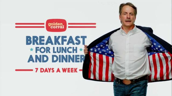 Golden Corral TV Spot, 'Breakfast for Lunch and Dinner' Ft. Jeff Foxworthy