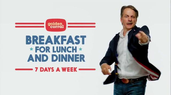 Golden Corral TV Spot, 'Breakfast for Lunch and Dinner' Ft. Jeff Foxworthy - Thumbnail 2