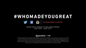 TaylorMade R15 TV Spot, 'Made of Greatness' Featuring Sergio Garc�a - Thumbnail 9