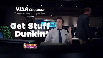 Dunkin' Donuts Mobile App TV Spot, 'VISA Checkout: Reload' - 13 commercial airings