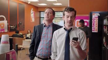 Dunkin' Donuts Mobile App TV Spot, 'VISA Checkout: Reload' - Thumbnail 5