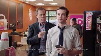 Dunkin' Donuts Mobile App TV Spot, 'VISA Checkout: Reload' - Thumbnail 6