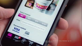 Dunkin' Donuts Mobile App TV Spot, 'VISA Checkout: Reload' - Thumbnail 7