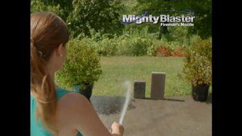 Mighty Blaster Fireman's Nozzle TV Spot, 'Poder y presición' [Spanish]