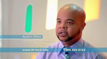 ITT Technical Institute TV Spot, 'Andres Plaza'