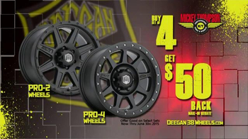 Mickey Thompson Performance Tires & Wheels TV Spot, 'Deegan 38 Wheels' - Thumbnail 9