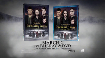 Twilight Breaking Dawn Pt. 2 Blu-ray and DVD TV Spot, Song Christina Perri - Thumbnail 8
