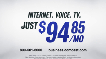 Comcast Business Class TV Spot, 'Professionals Can't Wait' - Thumbnail 7