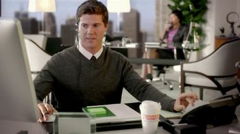Dunkin' Donuts Iced Coffee Dark Chocolate Mocha TV Spot, 'Phone Calls'