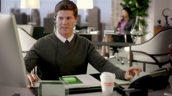 Dunkin' Donuts Iced Coffee Dark Chocolate Mocha TV Spot, 'Phone Calls'
