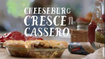 Pillsbury TV Spot, 'Cheeseburger Crescent Casserole'