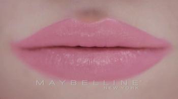 Maybelline New York Color Whisper Lipcolor TV Spot, 'Shhh' - Thumbnail 1